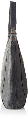 Timberland Tb0m5502, Borsa a Spalla Donna, 11x37x34 cm (W x H x L) Nero (Jet Black)