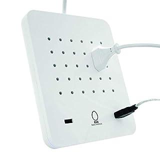 EGG ELECTRONICS PowerStation, innovative Ladestation, lädt bis zu 15 Eurostecker Typ-C + 2 USB-Ports gleichzeitig, Steckdosenleiste, Mehrfachsteckdose, Überspannungsschutz, 1.5m Kabel, ORIGINAL (B0749R837Z) | Amazon Products