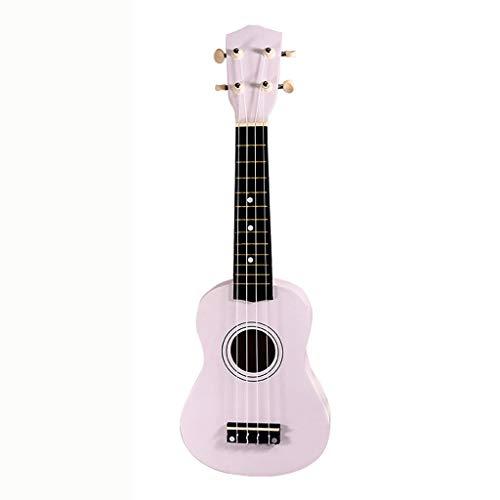 XHHWZB Paquete de ukelele soprano de HM-21inch Color Series con cuerdas Aquila, bolso de lona, correa y púas - Purple