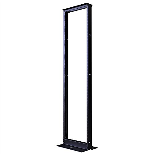 DISTRIBUTION RACK, BLACK, 7ft, 45 RMS by ICC Icc-rack