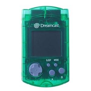 Dreamcast – SEGA Official Crystal Grün VM – Memory Card x6
