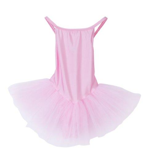 Girls Fairy Pink or White Dress Ballet Tutu Leotard Size S (3-4 yrs)