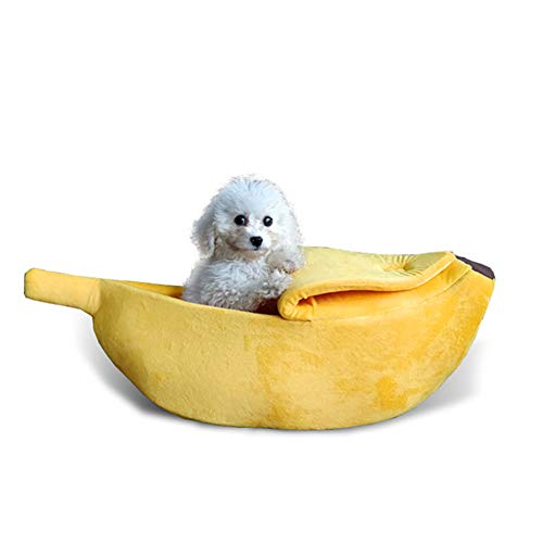 Ndier Lindo plátano Cama Gato Perro Mascota Forma