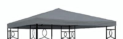 Pavillon Ersatzdach 3x3 Meter - anthrazit - wasserdicht - Pavillondach von Spetebo bei Gartenmöbel von Du und Dein Garten