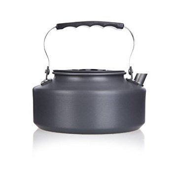 TOOGOO(R) 1.1L Portable Ultra-light Outdoor Hiking Camping Picnic Water Kettle Teapot Coffee...