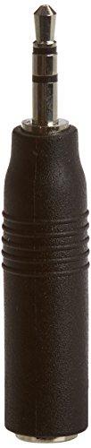 2,5 Mm Klinke (Connectland AD-JACK-3.5F-2.5M Adapter, Klinkenbuchse 3,5mm auf Klinkenstecker 2,5mm, Schwarz)