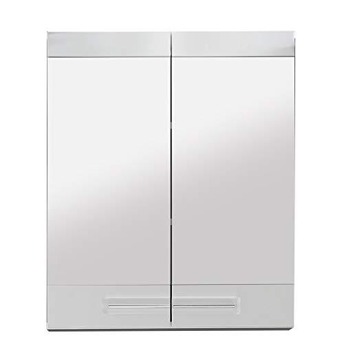 trendteam smart living Badezimmer Spiegelschrank Spiegel Bora , 60 x 71  x 15 cm in Weiß