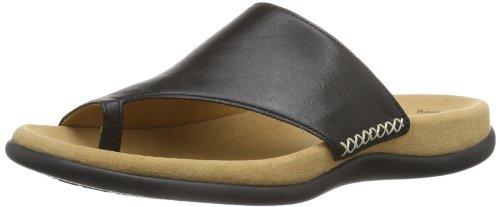 Gabor Shoes 83.700.27 Damen Pantoletten, Schwarz (Schwarz), Gr. 42