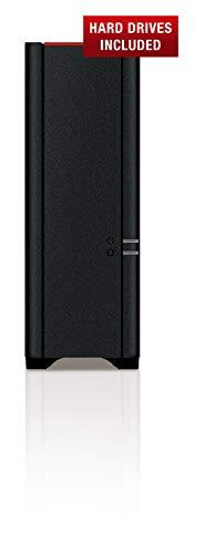 Buffalo LS210D0201-EU LinkStation 210 NAS-System 2TB (SATA III, USB 2.0) schwarz/anthrazit