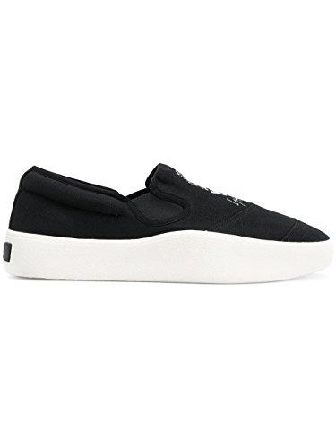 best sneakers 0fe44 1e8ad ADIDAS Y-3 YOHJI YAMAMOTO Slip On Sneakers Uomo Ac7511 Tessuto Nero