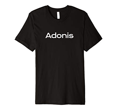 Adonis - Scherzname, Neckname, Partyurlaub, Fasching Shirt