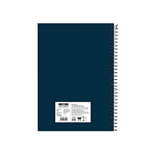 Luxor 1 Subject Spiral Premium Exercise Pocket book, Single Ruled - (18cm x 24cm), 180 Pages Image 7