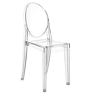 Kartell VICTORIA GHOST Chaise lot de 2, Cristal