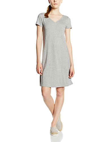Marc O'Polo Damen Kleid 606313559181 Grau (grey stone 947)