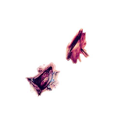 Spielzeug -Artistic9 Halloween Temporäre Tattoos Scary Wound Ghost Hand Gefälschte Verletzung Removable Tattoo Aufkleber ungiftig Body Art für Cosplay Kostüm Maskerade Party Favors (Scary Baum Kostüm)