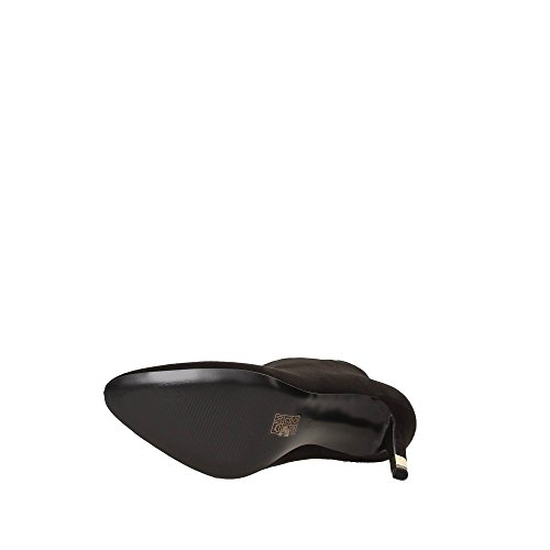 Guess Stiefeletten Damen stiefel Shootie Spitze Heel Cm 10 Suede Black Black