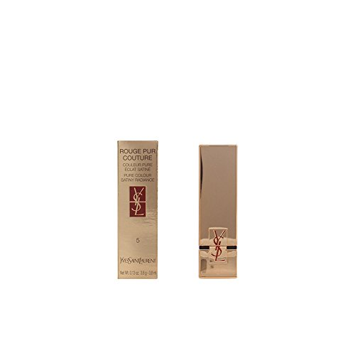 Yves Saint Laurent Rouge Pur Couture Rossetto, 5 Beige Etrusque, Donna, 15 ml
