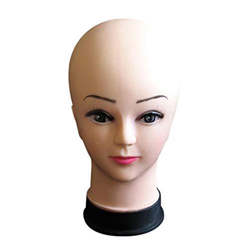 Chapeau De TêTe Mannequin Femme D'Affichage Perruque Torso PVC Formation ModèLe De TêTe ModèLe De TêTe Mannequin TêTe Styromousse Support Pour Perruque Chapeau