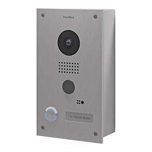 DoorBird D201 Acero inoxidable sistema intercomunicación
