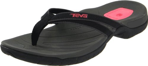 TEVA Tirra Thong Sandalo Donna schwarz