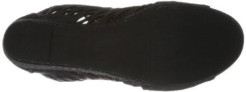 P1 Rum, Sandali Donna Nero (Schwarz (black)