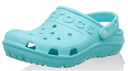 CROCS Schuhe - Clogs HILO CLOG KIDS - pool, Schuhgröße:EU 28-29 (Crocs Kinder 12 13)