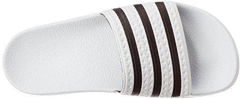 adidas Originals ADILETTE 288022 Herren Sandalen Weiß (Weiß/Schwarz 1/Weiß)