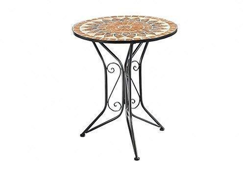 G2036 Mosaico Tavolo Da Giardino Castello Tavolo Metallo Stile