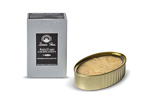 RAMON PEÑA - tonno pinna gialla ' yellowfin' in olio d'oliva OL120 confezione 5 unità