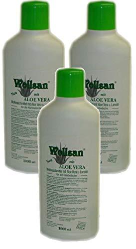 Wollsan Wollwaschmittel mit Aloe Vera und Lanolin (3 x 1.000ml) -