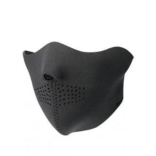 Face Mask, Gesichtsmasken aus Neorpren, Design:Half Black Neorprene