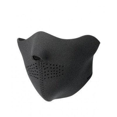 Preisvergleich Produktbild Face Mask, Gesichtsmasken aus Neorpren, Design:Half Black Neorprene