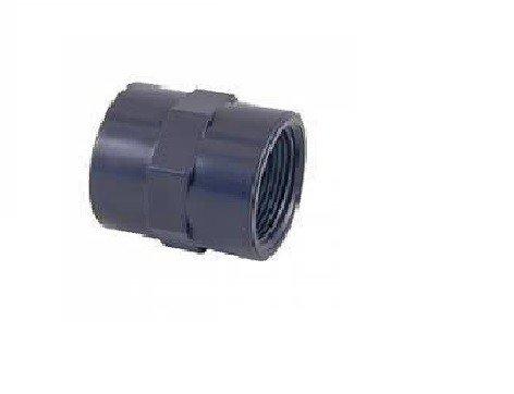 fluidra 01913 - Manchon union mixte renforcé PVC colle et visser d63 x 2 \