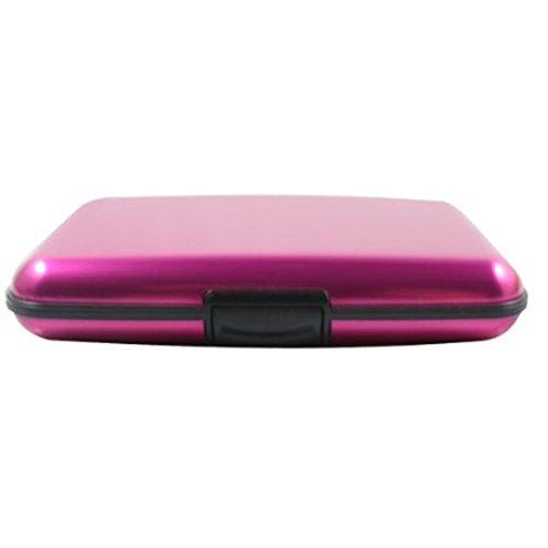 Hosaire 1x Aufbewahrungsbox Mode Kredit Bankkarte Aluminium Storagebox Multifunktions ID Card...