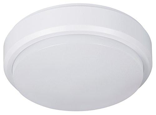 MÜLLER-LICHT LED Feuchtraumleuchte Pictor, Plastik, 8 W, Weiß, 17.6 x 17.6 x 5.6 cm
