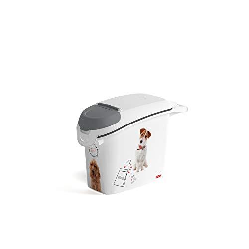 CURVER 241104 - Contenedor para Pienso 6 Kg/ 15 L, 23 x 50 x 35 cm