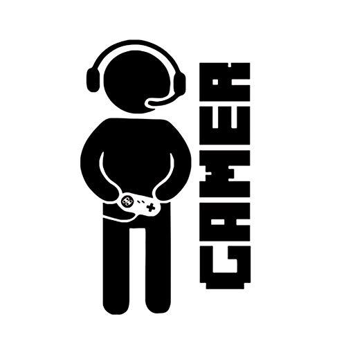 XiAnYeMa Gaming Gamer Etiqueta de la Pared para el Juego Amante Habitación...