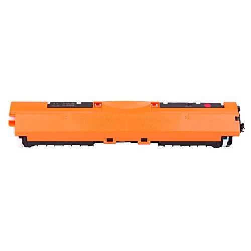 PRINT-RITE CE313A CRG729 Cartucho de tóner Compatible para HP Color Laserjet Pro CP1025/1025NW/M175A/M175NW,TopShot Laserjet Pro M275,1 Magenta