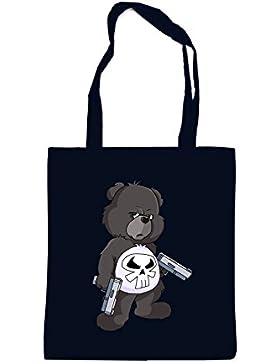 Punisher Bear Bag Black Certified Freak