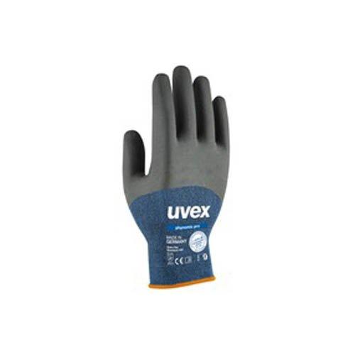 Uvex 600628PHYNOMIC Pro Safety Handschuh, Größe: 8, blau, anthrazit