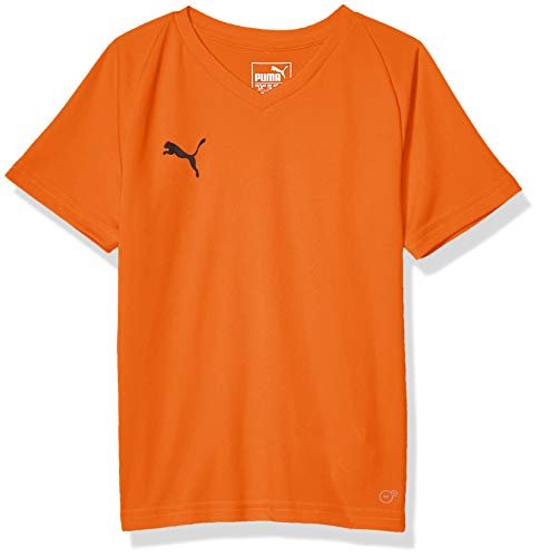PUMA Herren Liga Jersey CORE JR T-Shirt, Golden Poppy, Klein -