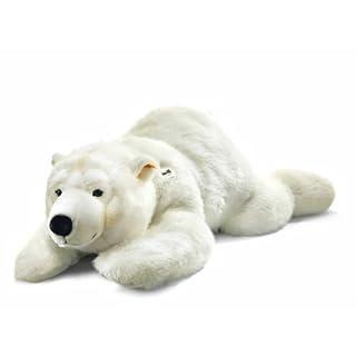 Steiff 120cm Arco Polar Bear Lying (White)