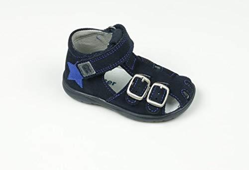 Richter Kinderschuhe Mädchen Babel Sneaker, Blau (Atlantic/Silver 7201), 26 EU