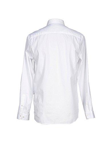 LOVE MOSCHINO -  Camicia Casual  - Con bottoni  - Uomo White