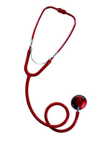 Spengler Stethoskop, einfacher Schalltrichter, für Erwachsene, Rot