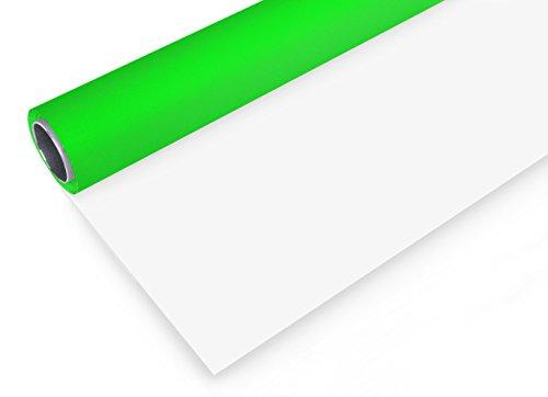 Bresser f001410Vinyle Fond Rouleau (2x 3m) Vert/Blanc