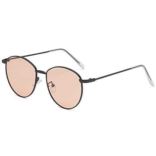 Dtuta Brillenfassungen Damen Kunststoff Leichte Materielle Sonnenbrille MäNner Und Frauen PersöNlichkeit Brillengestell Mode Brillengestell Retro Dekorative Accessoires