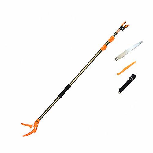 finether-secateur-ebrancheur-telescopique-tondeuse-a-arbre-aluminium-pruner-et-saw-longue-portee-14m
