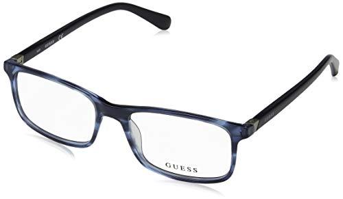 Guess Unisex-Erwachsene GU1948 091 53 Brillengestelle, Blau (Blu Op),