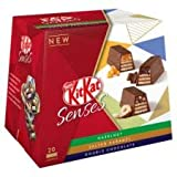 #10: Nestle Kitkat Senses Hazelnut, Salted Caramel & Double Chocolate Box (20pcs Approx), 200g